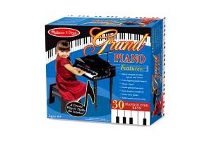 Дървено класическо пиано със столче Melissa&Doug 11315