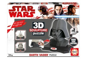 Пъзел EDUCA 3D Darth Vader black 17334