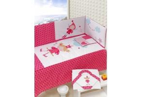 Спален комплект 4 части 'Малка принцеса'