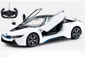 RASTAR Кола BMW i8 Open door R/C 1:14