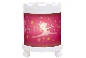 Магическа кръгла лампа Принцеси – Бяла 12 V
