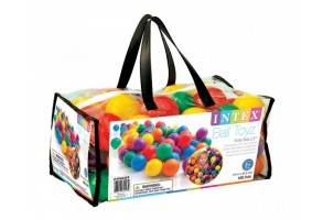 Топки малки INTEX 6.5cm Small Fun Ballz, 100 бр.