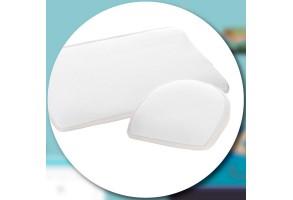 AirCuddle BREEZE MED антирефлуксна възглавница за кошара с непромокаем протектор с дишаща 3D структура - 59/39 см