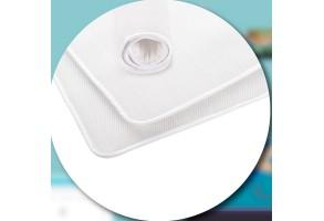 AirCuddle TOP SAFE, непромокаем протектор за матрак с дишаща 3D структура  - 60/120 см
