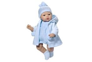 Asi, Кукла-бебе, Коке със синьо гащеризонче и плато