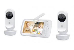 Бебефон за близнаци Motorola EASE35 TWIN, 2 камери