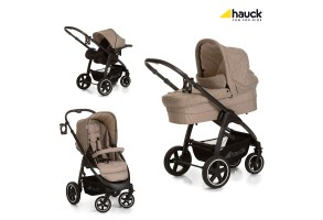 Бебешка количка 3 в 1 Soul Plus Trio Set Melange Beige Almond Hauck