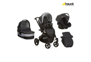 Бебешка количка Hauck Maxan 4 Plus Trio Set Melange/Charcoal