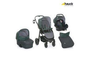 Бебешка количка HAUCK Soul Plus Set M 3в1 Emerald