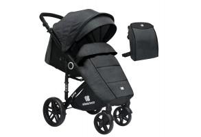 Бебешка лятна количка Juno Dark Grey 2020