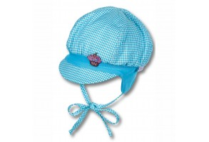 Бебешка лятна шапка с UV 30+ защита