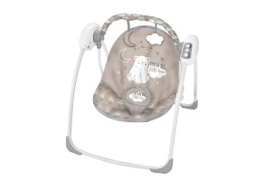 Бебешка люлка Felice Beige Bear 2020