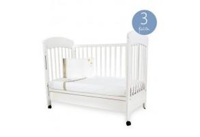 Бебешки спален комплект Kikkaboo Little Dreamer, С бродерия, Три части