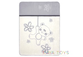 Бебешко одеало Teddy BabyMatex сиво 0201