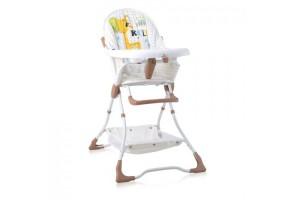 Бебешко столче за хранене Bonbon Beige&White GIRAFFE
