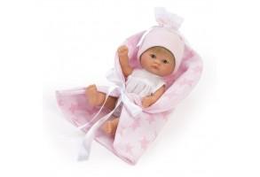 Bomboncin, Кукла-бебе Чикита, с розово одеалце