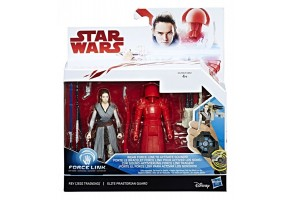 Фигури Hasbro Star Wars Rey + Elite с оръжие C1242