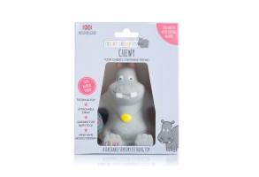 Cheeky Chompers Chewy the Hippo Teether бебешка чесалка хипопотам (каучук)