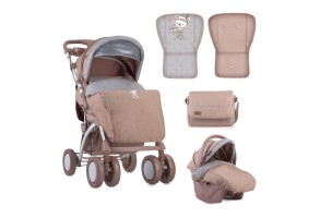 Детска количка Toledo Set Beige Indian Bear