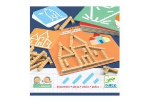 Детска игра Образователни пръчици