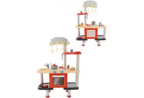 Детска кухня с мивка и печка Moni 57921, Polesie Toys, Многоцветен