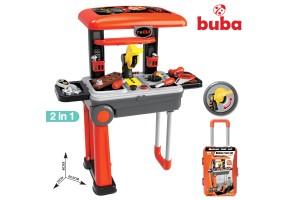 Детска работилница Buba Deluxe tool set 088-922A, Куфар