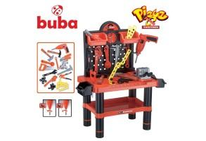 Детски комплект куфар с инструменти Buba Bricolage, Работилница