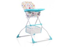 Детски стол за хранене Moni, Moove, тюркоаз
