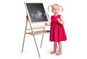 Двустранна дъска за писане и рисувана