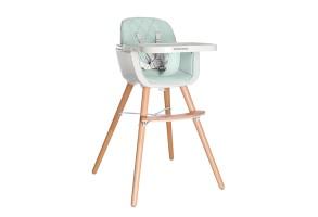 Дървен стол за хранене Woody Mint