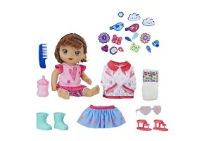Кукла бебе Hasbro Baby Alive с дрехи и аксесоари E2102