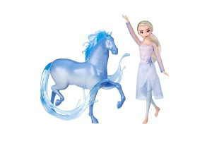 Кукла и фигурка Hasbro FROZEN 2 BASIC ELSA AND THE NOKK E5516
