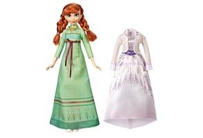 Кукла Hasbro FROZEN 2 Arendalle Fashions Анна E6908
