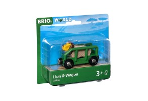 Играчка Lion and wagon