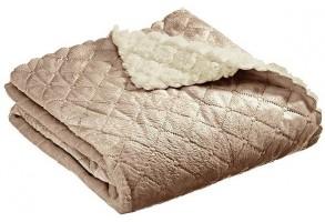 Interbaby детско одеяло Cozzy кафе (80x110см)