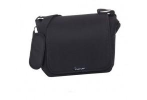 Interbaby Универсална чанта за бебешка количка Neon Black (32x14x31см)