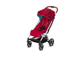 Бебешка количка Cybex Eezy S+ FE VALUES FOR LIFE Love red