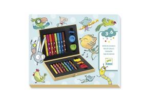 Комплект за рисуване Colour box