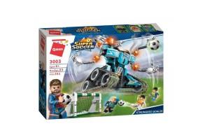 Конструктор Brick Super Soccer 3003 Желязната ръкавица на Ironshield 351 елемента