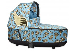 Кош за новородено Cybex Priam Lux Jeremy Scott Cherubs Blue