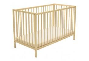 Бебешка кошара GRAPI BASIC натурална 60/120 cm