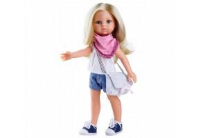 Кукла Paola Reina - Клаудия с чанта и шалче
