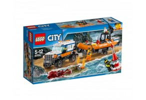 LEGO City Coast Guard 60165 - Екип за реакция 4x4