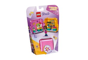 LEGO Friends 41405 - Кубът за игра и пазаруване на Andrea