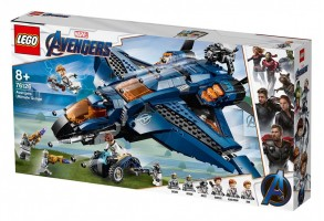 LEGO® Marvel Super Heroes 76126 - Съвършеният Quinjet на Avengers