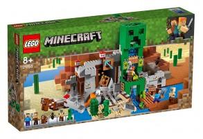 LEGO Minecraft 21155 - Мина Creeper
