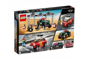 LEGO Speed Champions 75894 - 1967 Mini Cooper S Rally и 2018 MINI John Cooper Works Buggy
