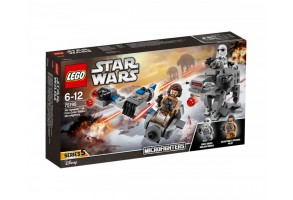 LEGO Star Wars 75195 - Ski Speeder vs. First Order Walker Microfighter