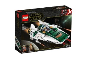 LEGO Star Wars 75248 - A-wing Starfighter на Съпротивата