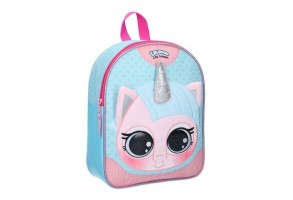 Малка 3D раница Vadobag Animals Cat Unicorn, 25 х 31 х 10 см